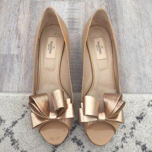 Valentino Bow Pumps - Size 10.5